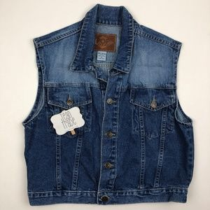 POP Jeans Denim Jean Vest